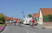 Course vélo route