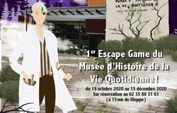 MANIFESTATION ANNULÉE - Escape game : La folie du professeur Chorus