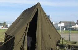 Reconstitution d'un camp militaire
