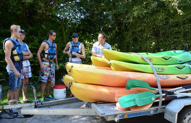 Location canoë-Kayak 4 - Bellengreville