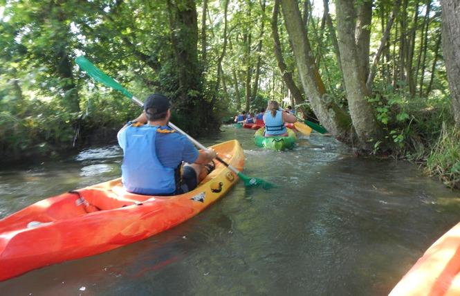 Location canoë-Kayak 17 - Bellengreville