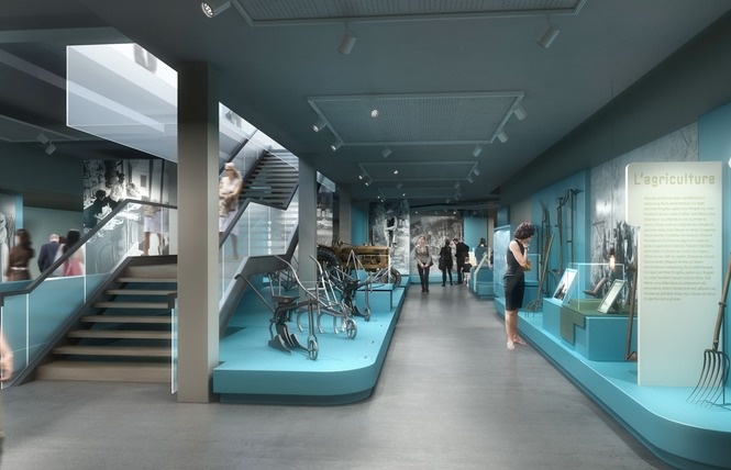 Musée d'Histoire de la Vie Quotidienne 1 - Saint-Martin-en-Campagne